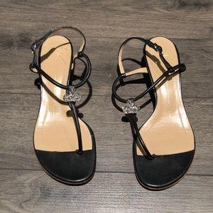Giuseppe Zanotti Design T- Strap wedge Sandal